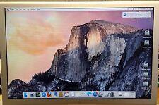 "Apple A1081 20"" Widescreen Cinema LCD HD Display 1680x1050 (No AC adapter)"