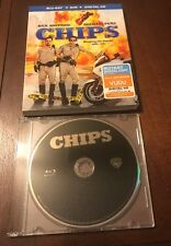 CHIPS BLU-RAY ONLY IN JEWEL CASE WITH SLIPCOVER 2017