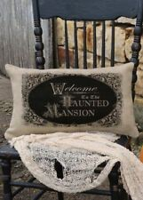 Heritage Lace- Curiosities Haunted Mansion Pillow