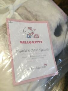 Sold Out Pottery Barn Hello Kitty Anywhere Chair SLIPCOVER ONLY