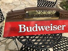 Budweiser World Championship Clydesdale Team Pool-table Light. Collectors Item!