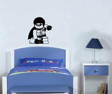 LEGO Robin Súper heroe Batman Infantil Adhesivo para dormitorio pared imagen