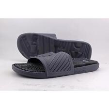 Scarpe da uomo adidas nera in pelle sintetica
