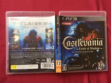 PS3 Castlevania Lords of Shadow KONAMI 2007 PLAYSTATION game FREE POSTAGE
