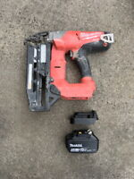 Makita battery adaptor to Milwauke -grease gun driver, drill, grinder, saw,torch