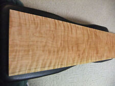 """Wide Extreme Figured Curly Flame Cherry Board Wood Lumber 10 7/8""""X59+"""" FREE SHIP"""