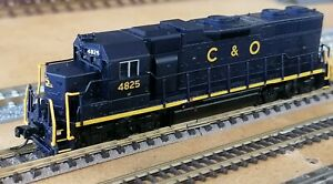 Atlas N' EMD GP-38 Chesapeake & Ohio #4825 (NEW IN THE BOX FROM OLD INVENTORY)