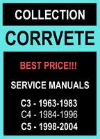 CHEVROLET CORVETTE C3 1963-1983 C4 1984-1996 C5 1998-2004 SERVICE REPAIR MANUAL