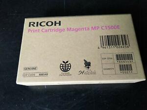 Ricoh MP C1500E Magenta Gel Cartridge 888549 Tintenpatrone DT1500MGT