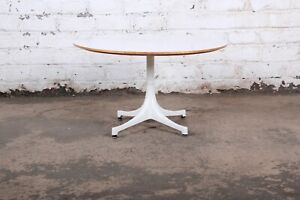 Original George Nelson for Herman Miller Swag Leg Coffee Table, 1960s