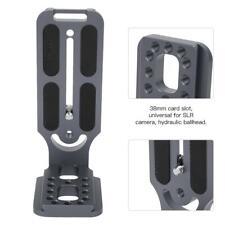 L Bracket Schnellwechselplatte Universal Halterung 38 mm Aluminium Halter