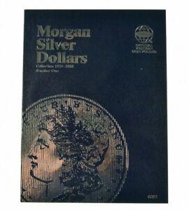 Whitman Coin Folder Morgan Silver Dollars 1, 1878 - 1883 (Albums, books)