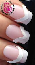 x48 FRENCH MANICURE TIP GUIDES IN 3 STYLES FOR SMILE STRIPING TAPE LINES #172