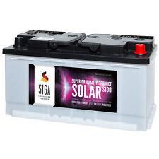 Solarbatterie 120AH Boots Wohnmobil Solar Caravan Versorgungs Batterie 100AH