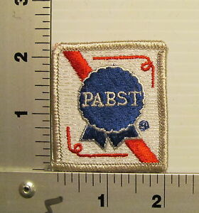 1970's / 1980's PABST  VINTAGE BEER PATCH EMBROIDERED PATCHES