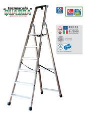 Scala in alluminio FACAL quadra Q50/5 5 gradini ottima qualita'