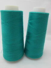 2 Spools Maxi-Lock Polyester Serger Thread - Teal Green