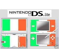 nintendo DS Lite - IRELAND IRISH  FLAG - 4 Piece Sticker Skin vinyl