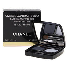 Chanel Ombre Contraste Duo Eyeshadow Blue Compact 30 Bleu Tendre | Damaged Box