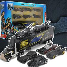 Set of 7 Batman Batmobile & Truck Car Model Toy Vehicle Metal  Gift Kids