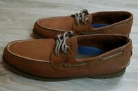 Sperry Top-Sider Men's Leather Boat Shoes Size 11 Dress Casual Brown Beach