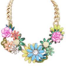 Fashion Charm Jewelry Pendant Chain Crystal Choker Statement Necklace