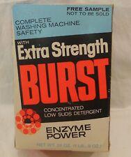 Vintage Burst laundry soap detergent Box 24 oz. Colgate-Palmolive unopened