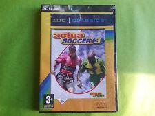Actua Soccer 3 pc cd rom gioco for windows nuovo ita sigillato
