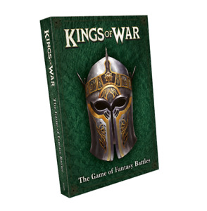 Kings of War 3rd Edition Softcover Rulebook 2019 Mantic Games - BRAND NEW!