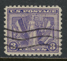 SCOTT 537 1919 3 CENT VICTORY ISSUE USED VF!