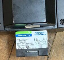 SOLA INDUSTRIAL CONTROL E5503PBX HEVI-DUTY TRANSFORMER