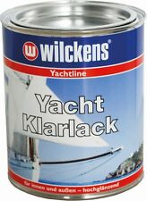 Wilckens Yacht Klarlack 750 ml Bootsfarbe Yachtlack Holzlack GFK