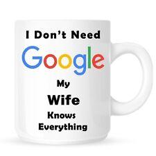Personnalisé google femme tasse noël anniversaire cadeau st-valentin nouveauté-DE5