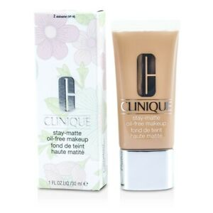 NEW Clinique Stay Matte Oil Free Makeup (# 02 Alabaster (VF) 30ml/1oz Womens