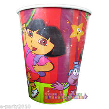 DORA THE EXPLORER Star Catcher 9oz PAPER CUPS (8) ~ Birthday Party Supplies Nick