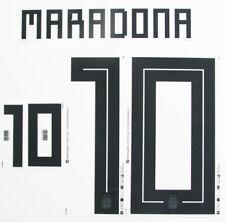 Maradona década de 10 - 2018 bloque de nombre de la Copa del Mundo para Argentina Home = Tamaño Adulto