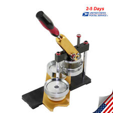Diy Button Maker Badge Making Machine Double bearing axle Round 58mm Die Mould