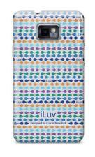 iLuv iSS222 Samsung Galaxy Sii Carcasa Funda Rígida Con Diseño 2 Colores