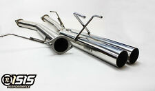 "ISR ISIS EP Straight Pipes Dual Tips 3"" Catback Exhaust for 89-94 240SX (S13)"