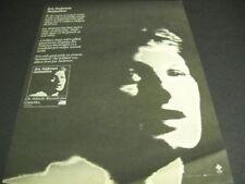 Jon Anderson Animation - the brilliant new album 1982 Promo Poster Ad