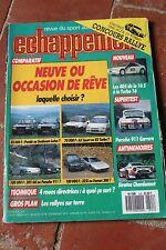 ECHAPPEMENT N°224 (juin 1987) 405 16S et Turbo - Porsche 911 Carrera