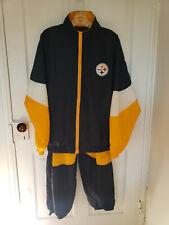 Vintage Team NFL Pittsburg Steelers Windbreaker Sweatsuit Tracksuit YTH XL 18-20