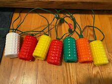 Vintage Blow Mold Rv Plastic String Lights Party Patio Lantern Tiki Camper Hang