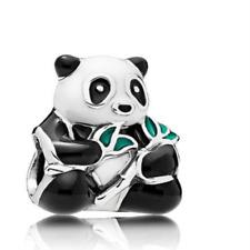 Hot 1pcs silver panda European Charm Beads Fit 925 Necklace Bracelet Chain #5