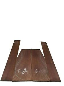 Indian Rosewood CLASSICAL Guitar Back & Side Set, Luthier Tonewoods #68