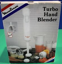 Moulinex Turbo Hand Blender with Attachments and Accessories