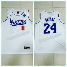 Kobe Bryant Custom Lakers Dodgers Jersey w/ KB Patch - Men's 2XL