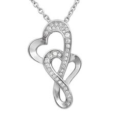 Eternal Love Heart Pendant Necklace with 37 Swarovski Crystals By Controse