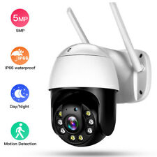 5MP HD WiFi Outdoor PTZ Security IP Camera Dome 5X Optical Zoom IR Night Vision