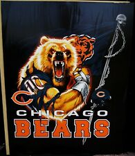 "NFL Football Chicago Bears Poster 28""x22"" No Frame Logo Mascot B3111"